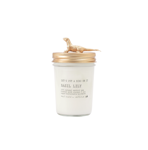 Gold Sea Otter • 8 oz Vegan Candle