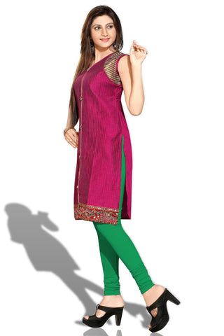 Indian Kurti_Purple_Embroidery_4