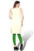 Indian Kurti_Cream & Multi_Embroidery_3