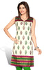 Indian Kurti_Cream & Multi_Embroidery_2