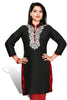 Indian Kurti_Black_Embroidery_2