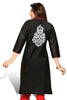 Indian Kurti_Black_Embroidery_3