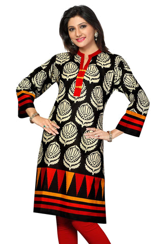 Indian Kurti_Multi_Printed_1