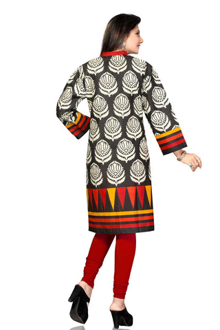 Indian Kurti_Multi_Printed_2