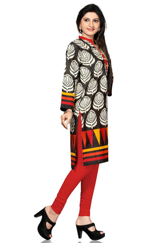 Indian Kurti_Multi_Printed_3