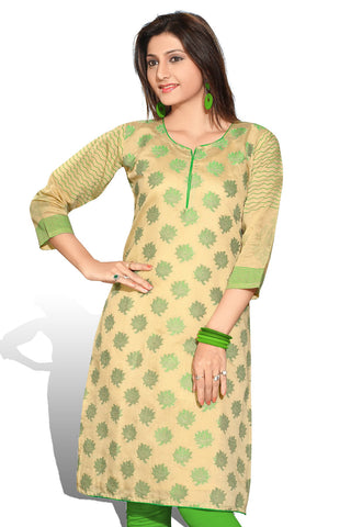 Indian Kurti_Cream_Embroidery_2