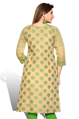 Indian Kurti_Cream_Embroidery_3