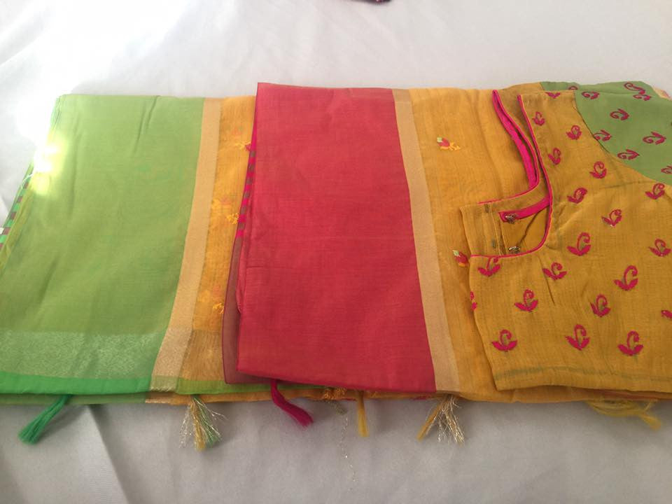 Ganga Jammuna Boarder Cotton Saree