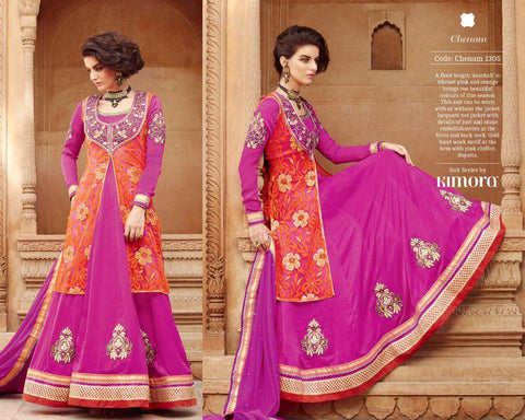 Pure Chiffon Dupatta with Net Jacquard,Silk Velet with Embroidered