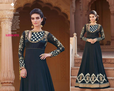 Pure Chiffon Shaded  Dupatta with Georgette with Embroidered