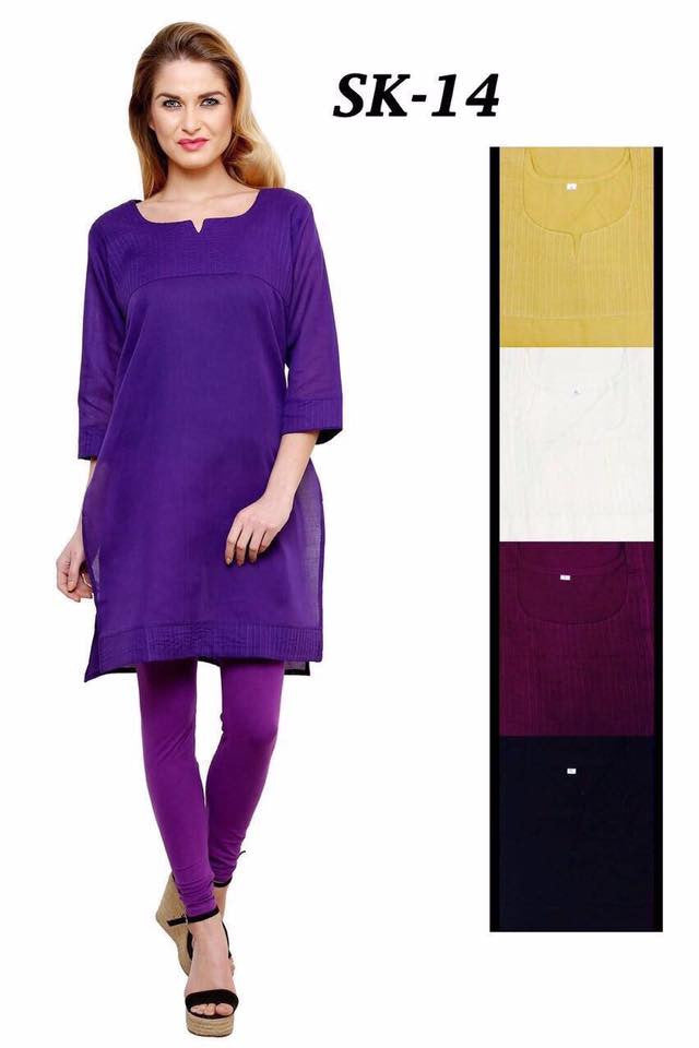 Simple Cotton Kurtis Series of SK14