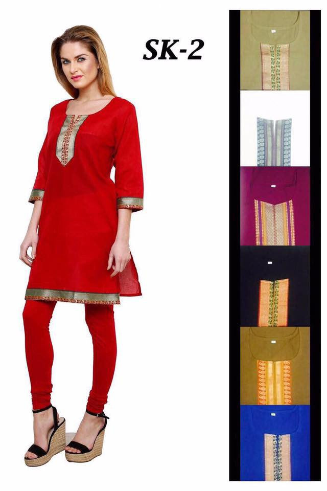 Simple Cotton Kurtis Series of SK2