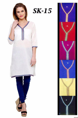 Simple Cotton Kurtis