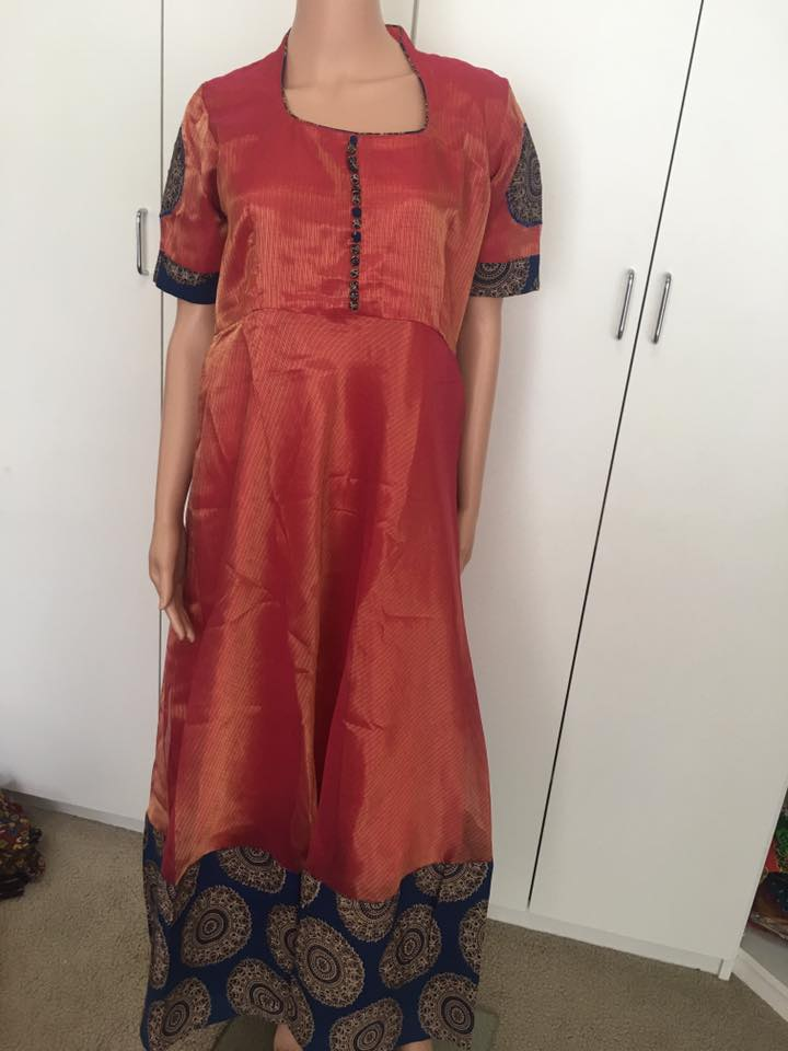 Kalankari Designer Long Frocks