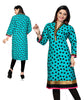 Indian Kurti_Blue_Printed_1