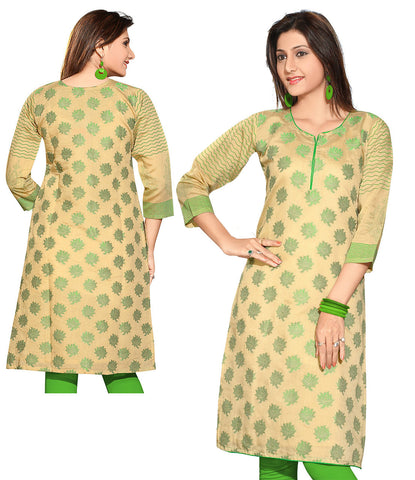 Indian Kurti_Cream_Embroidery_1