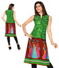 Indian Kurti_Green & Multi_Printed_1