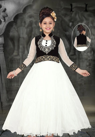Indian Designer_Gown_White