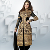 Black Net Kameez with Dhoti Pant
