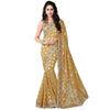 Indian Designer Beige Saree