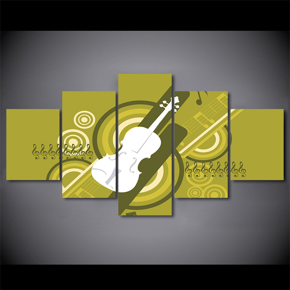 Music Instrument Guitar Artwork For Living Room Home Decor | Ethnic ...