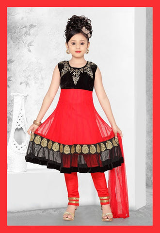 Indian Designer_Black_Orange