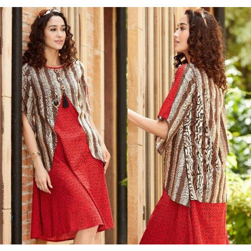 EthnicIndiaDesign Brick Red