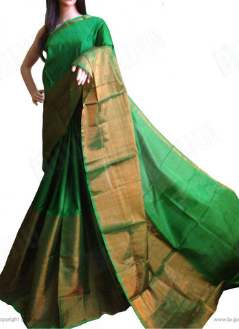 Ethnic India Design Parrot Green