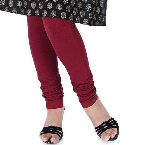Women's Leggings Maroon