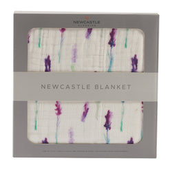 Newcastle Classics - Lavender and White Blanket - Little Nomad
