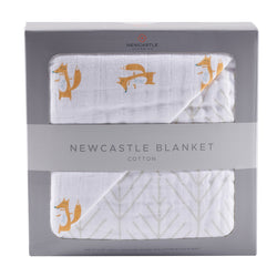 Newcastle Classics - Fancy Fox and Forrest Arrow Newcastle Blanket - Little Nomad