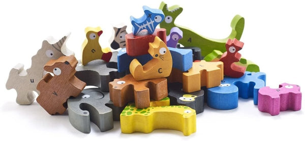 Animal Parade A to Z Puzzle - Little Nomad