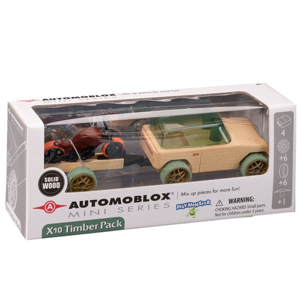 Automoblox X10 Timber Pack - Little Nomad