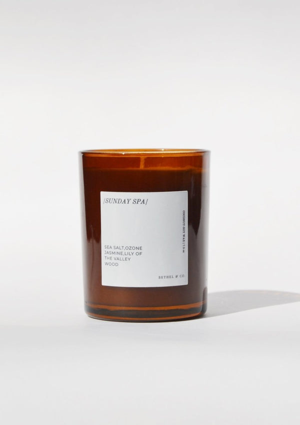 Bethel & Co Sunday Spa Candle - Little Nomad
