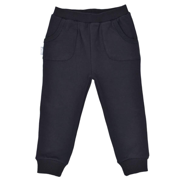 Black Cozy Jogger Pants - Little Nomad