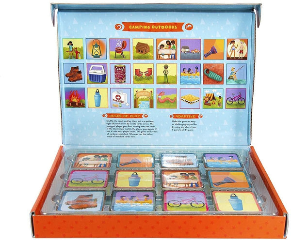 Camping Outdoors Memory Game - Little Nomad