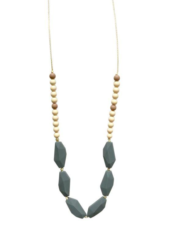 Chewable Charm - The Emerson Teething Necklace - Little Nomad