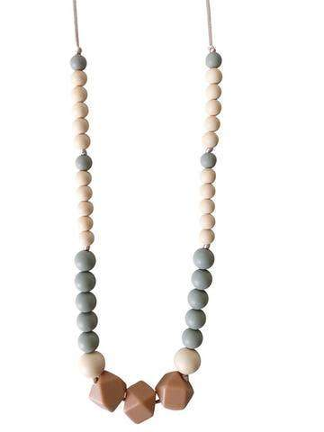 Chewable Charm - The Greyson Teething Necklace - Little Nomad