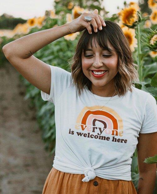 Everyone Is Welcome Here Women's Tee - Little Nomad