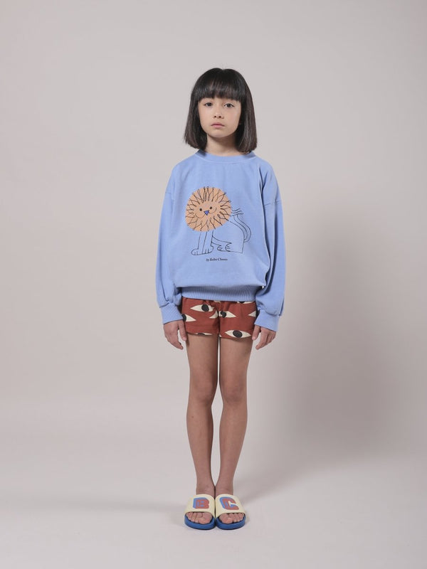 Bobo Choses Eyes All Over Jersey Shorts - Little Nomad