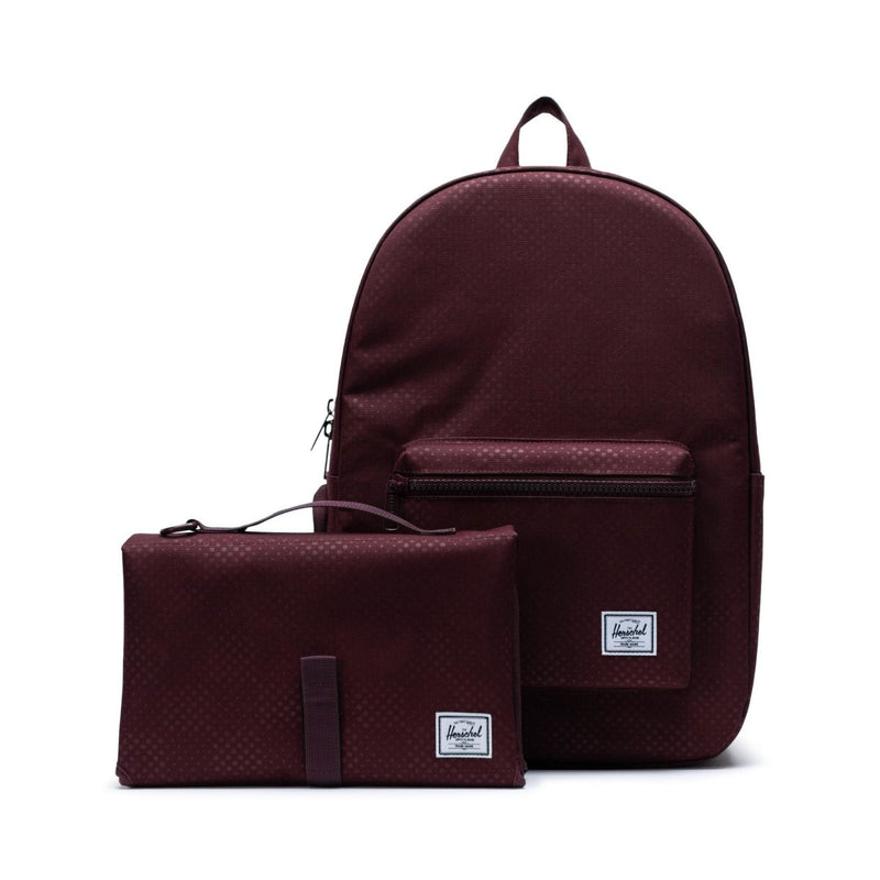 Herschel Settlement Sprout Backpack Plum Dot Check - Little Nomad