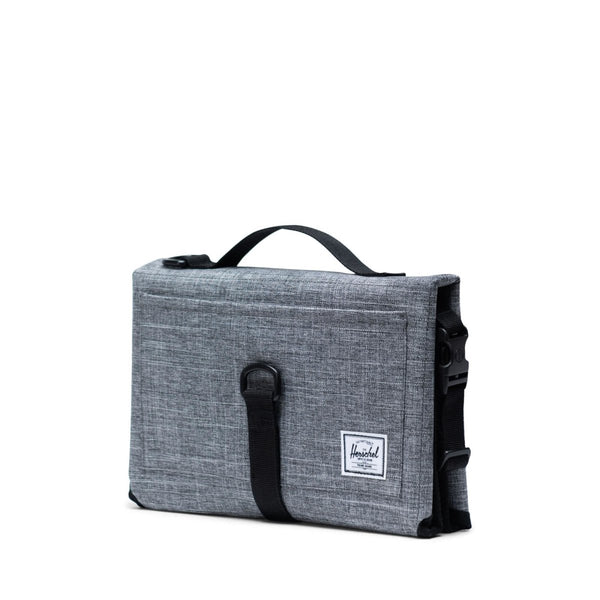 Herschel Sprout Change Mat Raven Crosshatch - Little Nomad