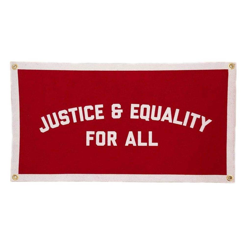 Justice & Equality For All Champion Banner - Little Nomad