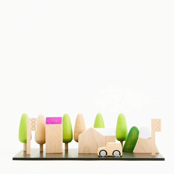 kiko+ & gg* - Machi tiny wooden town - Little Nomad
