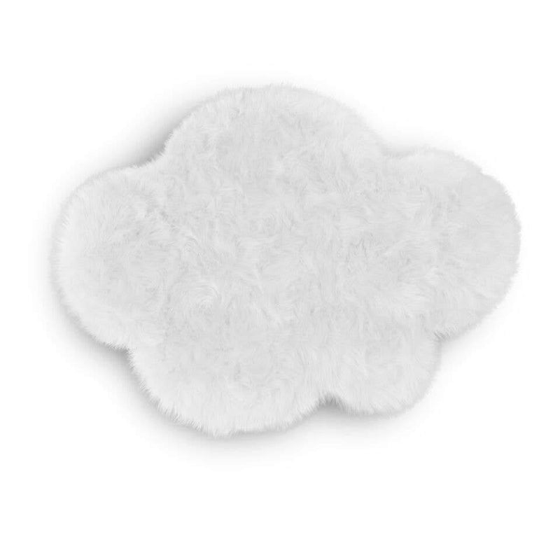 Kroma Carpets - Faux Sheepskin White Cloud Rug - Little Nomad