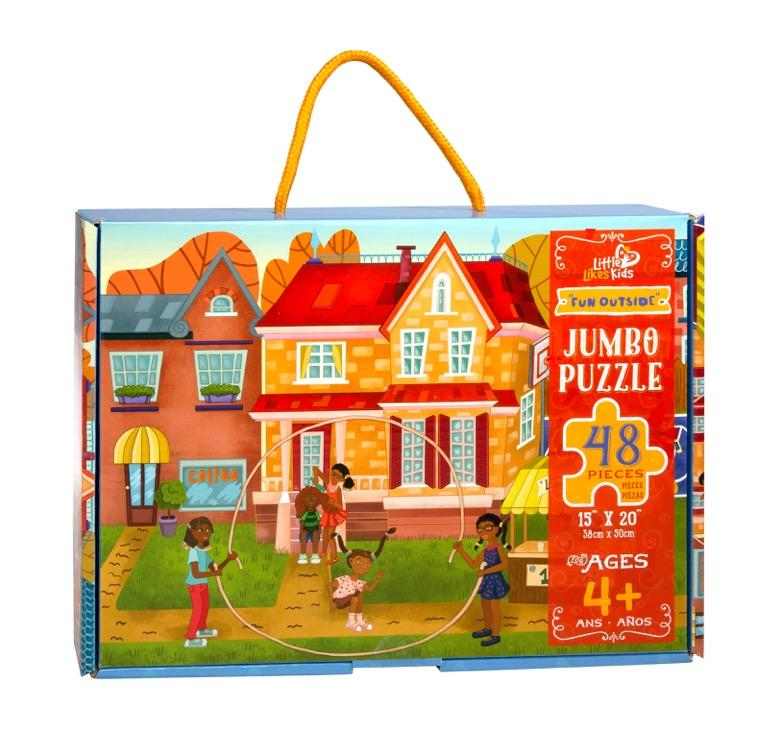 Little Likes Kids Fun Outside Jumbo Puzzle (48 Piece) - Little Nomad