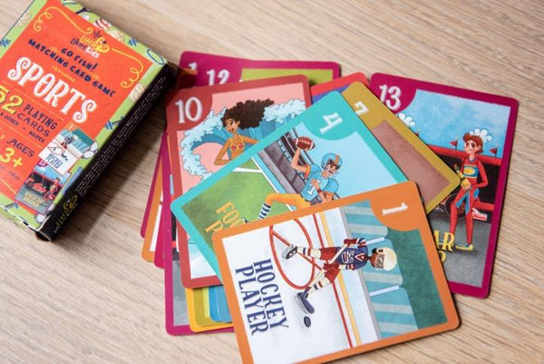 Little Likes Kids Sports Playing Cards - Little Nomad