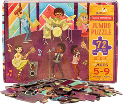 Musical Crossroads 72 Piece Puzzle - Little Nomad