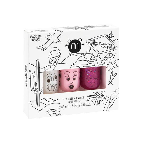 Nailmatic Kids - Las Vegas Nail Polish Set - Little Nomad
