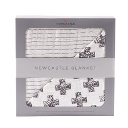Newcastle Classics - Nordic Cross and Pencil Stripe Blanket - Little Nomad